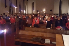 Christmas Eve Candle Light Service 2015